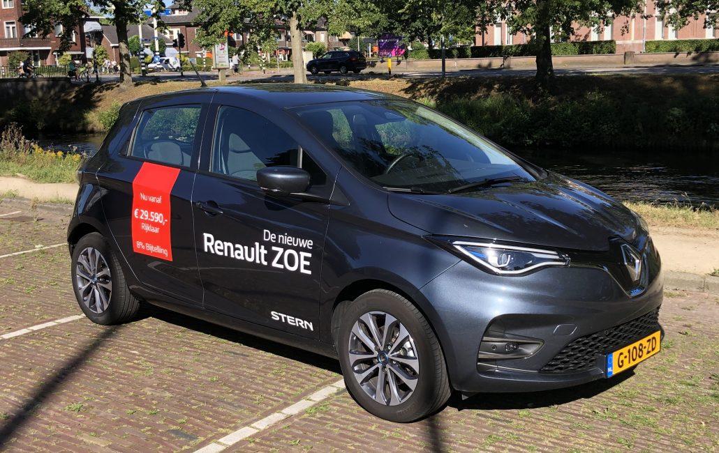 wagenparkbeheer, Renault ZOE leasen