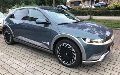 Hyundai Ioniq 5, een echte blikvanger